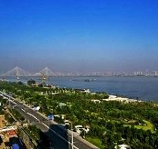 武汉武青堤江滩公园园林绿化广播采用威康音频IP网络广播系统