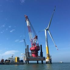 威康音频网络广播成功应用于中国新能源海上风力发电项目