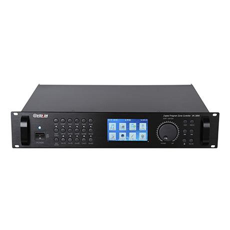 VK-3886智能MP3编控主机  大屏真彩版 (校园/企业/部队作息定时专用)