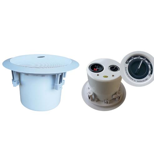 同轴型、定压定阻可调、金属后罩吸顶扬声器 VC-0805K VC-0806K VC-0808K
