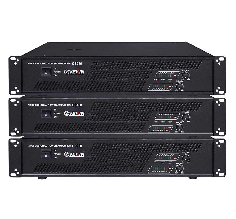 CS系列功放 CS250 CS400 CS500 CS600 CS800