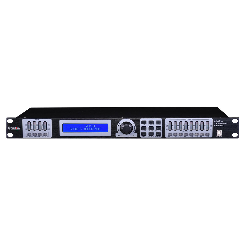 专业音频处理器(四进八出)VE-8980