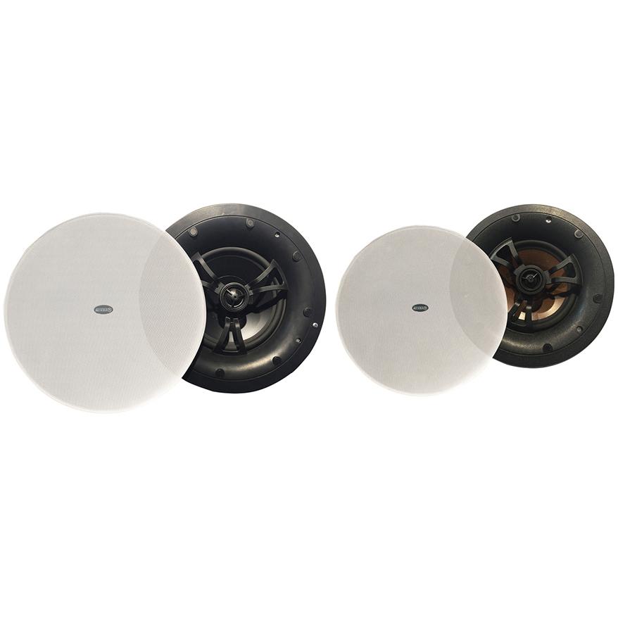 同轴型、吸磁式、无边式吸顶扬声器 VC-0815 VC-0816 VC-0818