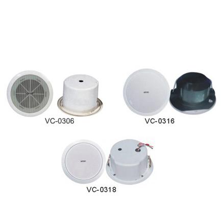 吸顶扬声器 VC-0306 VC-0316 VC-0318