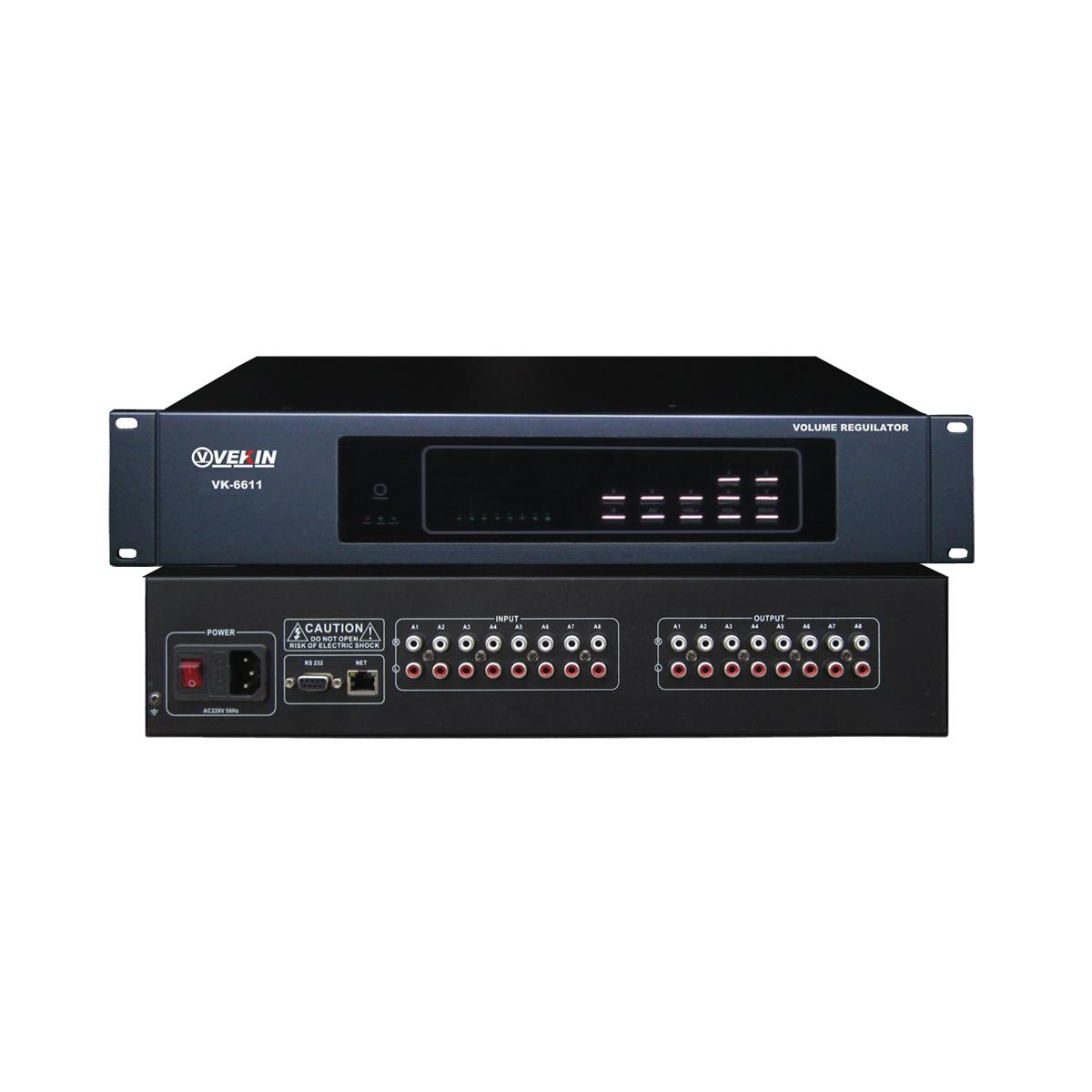 8路音量调节器 VK-6611