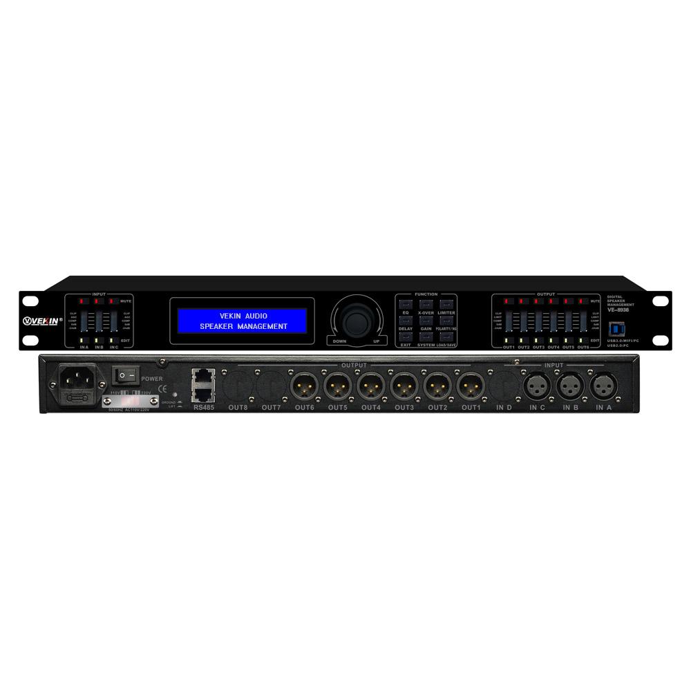 3x6 专业音频处理器 VE-8936