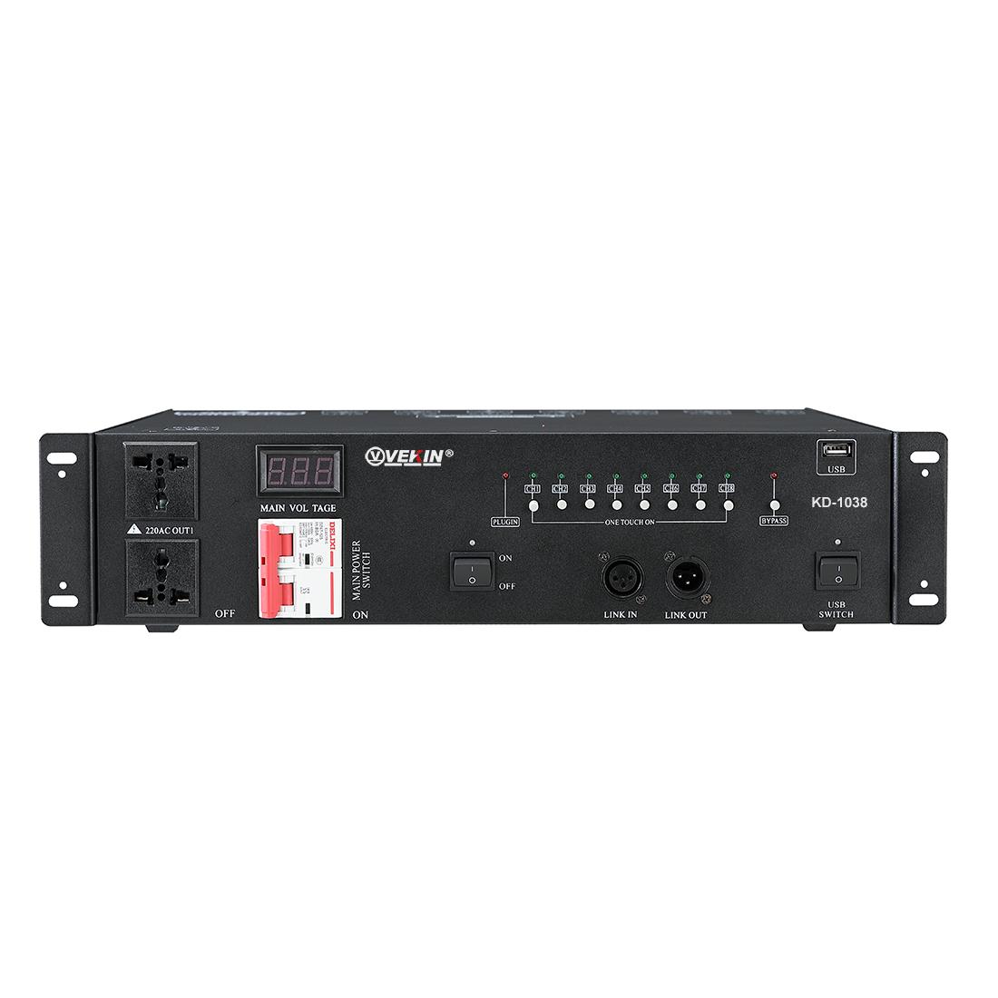 专业电源时序器(大功率)  KD-1038