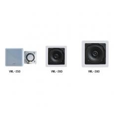 嵌入式正方型喇叭 VWL-250 VWL-260 VWL-280