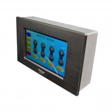 音频处理器4.3寸有线触摸嵌墙式面板 VE-89W